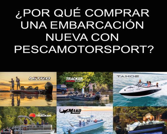 ¿Por qué comprar una embarcación nueva con Pescamotorsport?